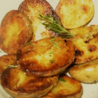 Sauteed Potatoes with Rosemary