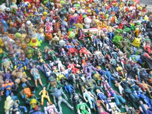 All the action figures you could want!